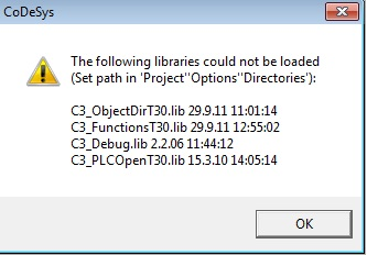 How do I add C3 IEC library? How do I install/change targets? 5830