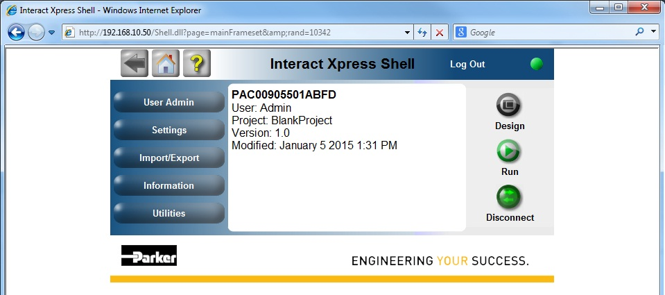 Upload/Download Xpress HMI projects to PAC (PAM 1 2 0+)