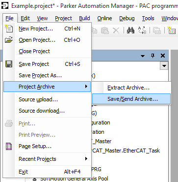 Can I open an edit and download a PAM 1 3 0 project using